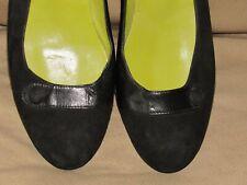 Brand new BRUNO MAGLI womens sz 9 AA black leather flats shoes
