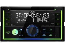 JVC 2 Din Autoradio KW-R930BT Android Spotify Bluetooth iPhone Multicolor MP3