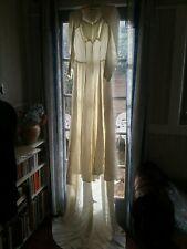 Vintage 1940 Wedding Dress