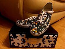 Vans Authentic Women's Shoes Disney Donald Duck Blue Sneakers - Size UK 5