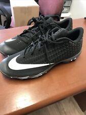Nike Fastflex Mens Baseball Cleats Shoes Black White Size 13 A07945 -004