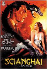 Le drame de Shanghai Louis Jouvet movie poster print