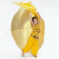 New Kids Belly Dance Costume Children's isis Wings 2 Colors  Gold  Silver
