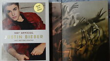 New Signed Justin Bieber Just Getting Started 1/1 HC DJ Book Rare 100% Official
