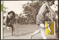 AUSTRALIA 2007 CRICKET 1974 7c SPORTS 1v Souvenir Sheet FINE USED GABBA Postmark