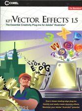 KPT Vector Effects 1.5 MAC CD illustrator art plug-ins!