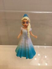 Disney Elsa From Frozen Polly Pocket Style Magic Clip-cake Topper