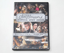 Jim Henson's Fantasy Film Collection Labyrinth The Dark Crystal Mirrormask Dvd