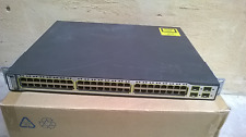 CISCO CATALYST 3750 PoE-48 Switch WS-C3750-48PS-E
