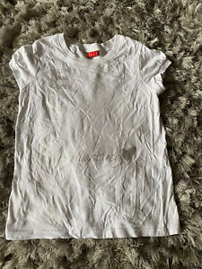 Elle Ladies White T Shirt Size 14