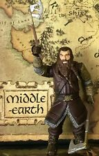 """The Lord Of The Rings 5"""" Gimli Action Figure + Weapons - Marvel Ent.  Inc. 2001"""