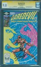 Daredevil 178 CGC SS 9.8 Stan Lee Sign Power Man Iron Fist TV Key Frank Miller
