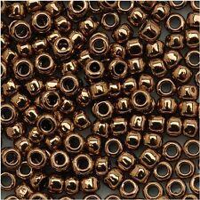 15/0 Bronze Round Glass TOHO Seed Beads 10 grams #221