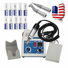 Dental Lab MARATHON Handpiece 35KRpm Electric Micromotor polishing/Drill*10 DT5