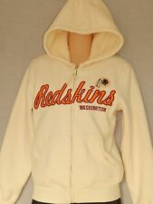 NEW Washington Redskins Football Hoodie Women's Jacket Zip up Coat Size S Small