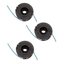 3 x Trimmer Strimmer Spool & line For Florabest FRT 450A1 FRT 450B2 FRT 500/8