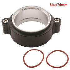"HD Exhaust V-band Clamp Flange Assembly Anodized Clamp For 3"" Turbo Dump Pipe"