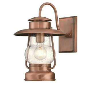 Westinghouse 6373100 Santa Fe 1 Light Outdoor Wall Light Fixture - Washed Copper