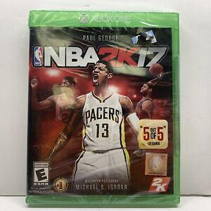 NBA 2K17 (Microsoft Xbox One) Brand New Sealed SHIPS NEXT DAY!