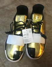 New James HARDEN VOL. 3 'IMMA STAR' G54026 Gold Metallic / White / Black sz 9.5