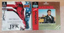 Joblot - Mixed Rare Authentic Japanese Lazer Discs (Western Movies) x7
