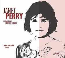 German And French Songs [Janet Perry; Jean Lemaire] [SOLO MUSICA; SM239], Janet