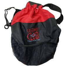 Disney Cruise Line Castaway Club Red & Black Beach Tote Bag