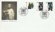 CANADA #1533-1535 CHRISTMAS CAROLLING COMBINATION FIRST DAY COVER