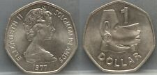 SOLOMON ISLANDS - one 1 dollar 1977 - nice!