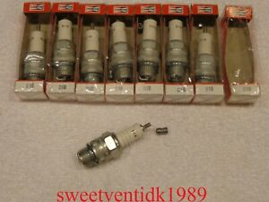(8).....'NOS' Champion D16 Spark Plugs.....18mm.....MADE IN U.S.A.