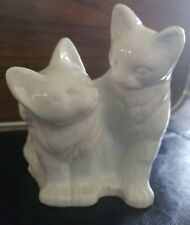 Cat And Kitten Pals or parent and kid Ceramic-porcelain Planter