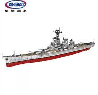 Baukästen Spielzeug Xingbao Sekretärin Schlachtschiff Militär Modell Geschenk