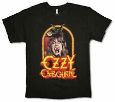 Ozzy Osbourne Devil Frame Image Black Adult T SHIRT S-2XL