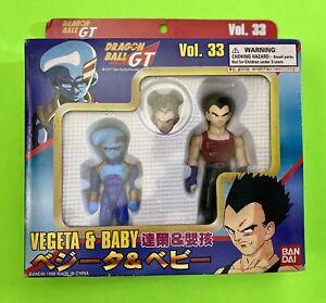 Dragon Ball GT Super Battle Collection - Vegeta & Baby - Vol. 33 - DBZ - 1998
