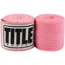 "Title Boxing 180"" Semi Elastic Mexican Handwraps�- Neon Pink"