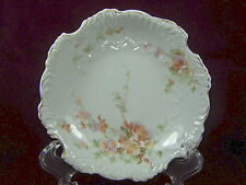 "Antique 1800/1900's HERMANN OHME Germany Scalloped Eglantine Floral 5-1/8"" Dish"