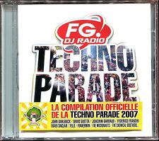 TECHNO PARADE FG RADIO - CD COMPILATION NEUF ET SOUS CELLO