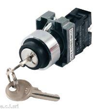 03038855 Interruttore con chiave - 220Vac da Pannello