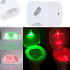 PIR Infrared Sensor Toilet Night Lamp Red/Green LED Human Motion Activated 1.2LM