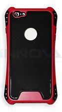 Neuf étui antichocs PC Couverture Housse pour Apple iPhone 6+ 6S+ Rose Rouge