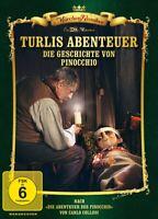 TURLIS ABENTEUER-DIE GESCHICHTE VON PINOCCHIO - MÄRCHEN KLASSIKER   DVD NEUF