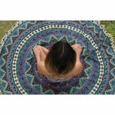Barmeri Indian Mandala Round Tapestry Wall Hanging Bedspread Sheet Throw Beach