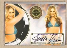 Jessica Kinni 59 2014 Bench Warmer Vegas Baby Gold Foil Autograph Auto