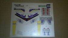 Transformers premium quality replacement sticker/decal sheet for G1 Sixshot