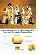 Publicité Advertising 057  1994  Pedigree Pal  aliment chien  Markies
