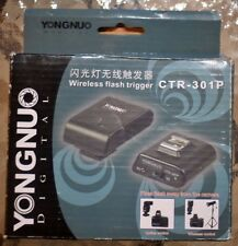 Yongnuo Digital wireless flash trigger CTR-301P (Brand New)