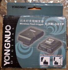 Yongnuo Digital wireless flash trigger CTR-301P (Brand New)