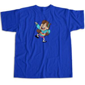 Gravity Falls Cute Happy Mabel Pines Cartoon Mens Womens Kids Unisex Tee T-Shirt