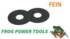 Fein 63502102016 supercut 63mm HSS Saw Blade x 2 Multitool blades