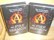 FRANCESCA HAIG  THE FIRES SERMON   TWIN SIGNED NUMBERED UK  EDITIONS ALPHA-OMEGA